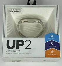 Jawbone Wireless HeartRate,Activity,Sleep Tracker Wristband UP2* thin straps*oat