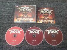 Monsters of Rock 3x CD Kiss, Van Halen, Motorhead, Scorpions, Saxon, Judas, UFO