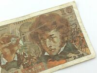 1978 France 10 Dix Francs Circulated Banknote KM 150c Hector Berlioz T567