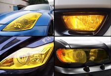 "16""x48"" Car Gloss HeadLight Tail Fog light Tint Film vinyl Sheet Golden Yellow"