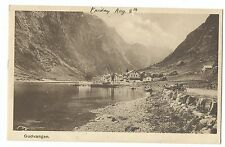 Norway, Gudvangen PPC Unposted, View From Waterside
