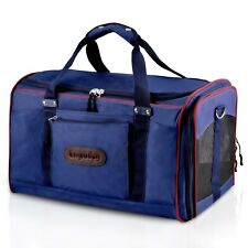 Legendog Pet Carrier, Large Cat Carrier Soft-Sided Luggage Cat Airline Approved