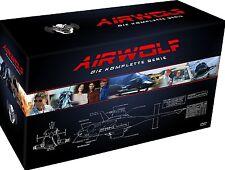 AIRWOLF 1-4 DIE KOMPLETTE SERIE 1 2 3 4 DVD BOX SET DEUTSCH