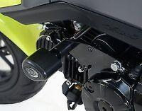 R&G RACING Aero Crash Protectors, Honda MSX125 (Grom) up to 2016 *BLACK*
