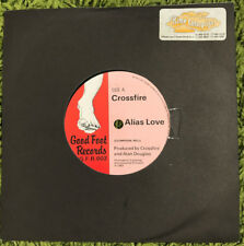 "Crossfire - Alias Love 7"" Single - EXTREMELY RARE Clem Clempson Jack Bruce"