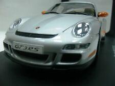 WOW EXTREMELY RARE Porsche 997 911 GT3RS Silver Orange 1:18 Auto Art-996/GT2/RSR