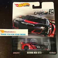 Acura NSX GT3 Project Cars 2 * Red/Black * 2019 Hot Wheels Retro Case M