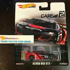 Acura NSX GT3 Project Cars 2 * 2019 Hot Wheels Retro Case M