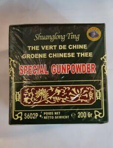 Special Gunpowder Gun Powder Green TEA by Temple of Heaven Chinese China 200g