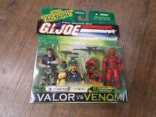 Gi Joe Valor Vs Venom Gung Ho Wild Weasel action figure New