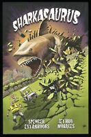 Sharkasaurus Graphic Novel Trade Paperback GN TPB Monster Dinoshark Shark Horror