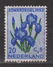 NVPH Netherlands Nederland 606 used 1953 Summer stamp MUCH MORE in ebay.nl shop