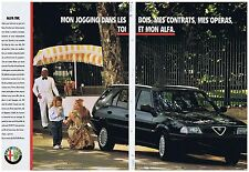 PUBLICITE ADVERTISING 094 1990 ALFA ROMEO alfa SW (2 pages)
