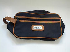 vintage retro men's  zipper  toiletry bag the jock promo bag