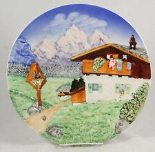 Vintage Majolika Schramberg (SMF) Hanging Plate/Platter #4707 Ceramic