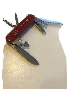 Victorinox Swiss Army with Camping with Saw Explorer Style Pocket Knife