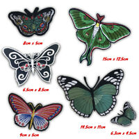 Cute Butterfly colourful art badges collection Iron on Sew on Embroidered Patch