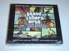 GRAND THEFT AUTO SAN ANDREAS ORIGINAL SOUNDTRACK MUSIC USA IMPORT *BRAND NEW*