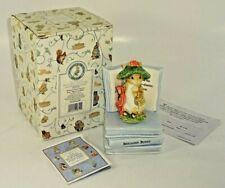 VTG 1997 Enesco Beatrix Potter Benjamin Bunny Music Box 297712 Mozart's Lullaby
