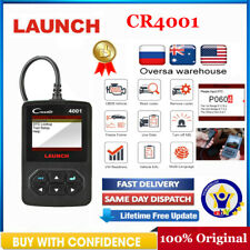 LAUNCH X431 OBD2 Scanner Check Engine Fault Code Reader Diagnostic Tool CR4001