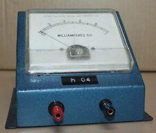 Kyoritsu Electrical Milliamperes DC MR4P ex TAFE teaching lab FSD 1mA amp meter