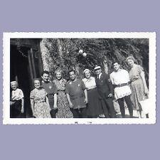 Vintage Photo 1959 TOURIST GROUP Women w/COSTUMED MEN