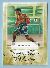 """""""SUGAR"""" SHANE MOSLEY 2011 RINGSIDE BOXING GOLD AUTOGRAPH AUTO SP /9"""
