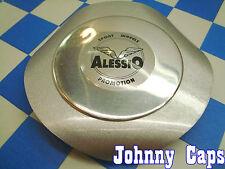 Alessio Wheels Silver Center Caps #ALESSIO Custom Wheel Good Silver Cap (1)