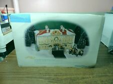 The Sound of Music Dept 56 Von Trapp Villa #56178 Alpine Village Lit House