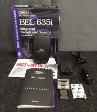New listing Bel-Tronics Limited Bel 635i Integrated Radar/Laser Detector