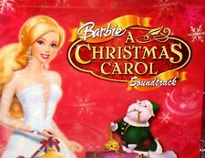 Barbie, A Christmas Carol Movie Soundtrack CD Childrens Kids Music New Mattel