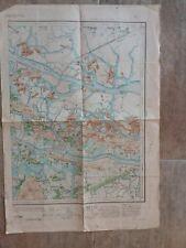 Plan/Carte INDOCHINE/ 1904/delta du Tonkin/DONG