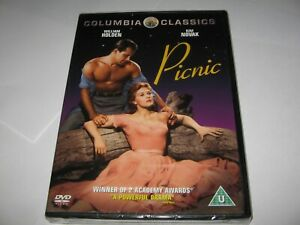 PICNIC (1955) WILLIAM HOLDEN KIM NOVAK - NEW/SEALED REGION 2 DVD   Classic Drama