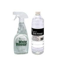 White Vinegar Spray Natural Glass Cleaner Stain Remover I Litre Refill Included
