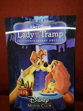 Disney Movie Club ~ 3-D Lenticular Collector Card ~ Lady and the Tramp