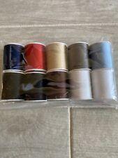 All Purpose Thread Multicolor 10 Spools 200 Yards Per Spool Polyester Craft New