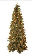GKI Bethlehem Lights 7.5' Green River Spruce Slim Tree Pre-Lit 500 Clear Lights