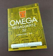 / 1325 Booklet in Spanish Omega MegaQuartz 32 Caliber 1320