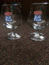 Lipton Ice Tea Glasses