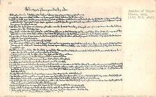 BR79745 articles of magna charta postcard  london british uk