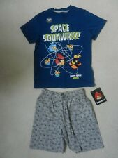 BNWT M&S Boys Angry Birds Space Summer PJ's Nightwear Pyjamas 9-10 Years