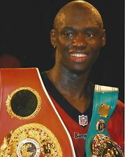 Antonio Tarver 8X10 Photo Boxing Picture With Belts