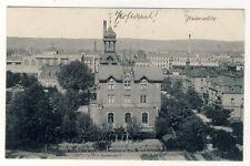 DRESDEN Niedersedlitz - ORTSANSICHT mit BAHNHOF - ANSEHEN (9636/338N)