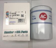 Genuine GM 19187301 ACDelco Reproduction PF35 Engine Oil Filter
