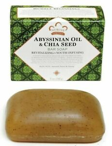 Nubian Heritage - Abyssinian Oil & Chia Seed Soap -One Bar ****