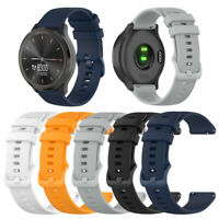 20mm Silikon-Armband Uhrenarmband für Garmin Vivomove 3/Verschieben Luxe DE
