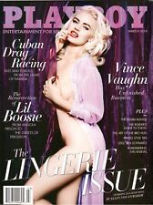 PLAYBOY THE LINGERIE ISSUE MARCH 2015 VINCE VAUGHN HAS UNFINISHED BUSINESS