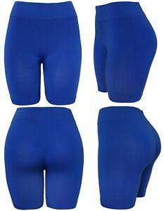 Women's Slip Shorts Seamless Layering Biker Bermuda Shorts