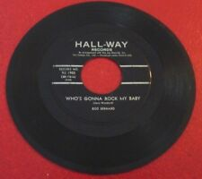 45 RPM Rod Bernard Colinda + Who's Gonna Rock my Baby
