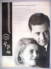 De Beers Consolidated - Diamond Jewlery PRINT AD - 1965 ~~ jeweler